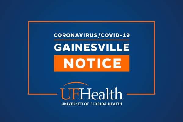 UF Health - Gainesville Notice