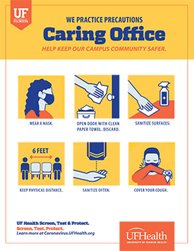 Caring Office Signage