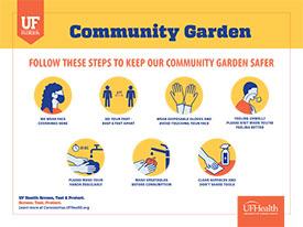 Community Garden Safety Signage Example