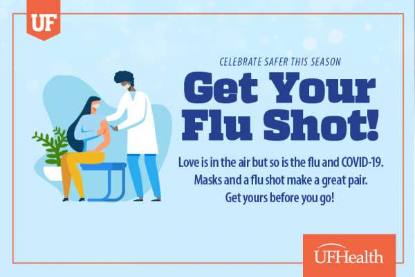 Graphic that says Get your Flu Shot!