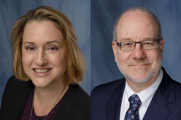 Dr. Nicole Iovine and Dr. John Smulian